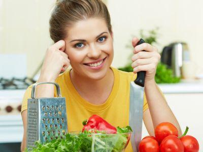 Gotowanie, kobieta