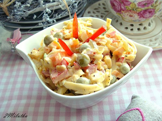 Салат из твердого сыра рецепты