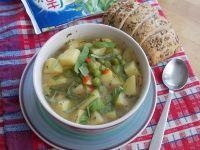Zupa ziemniaczano – grochowa