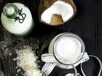 Mleko kokosowe i mleko ryżowe