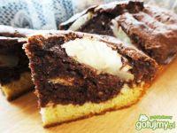 Ananasowo- kakaowe ciasto