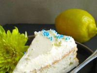 Anielskie ciasto szyfonowe z cytrynową nutą