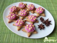 Anyżkowe ciasteczka z orzechową masą