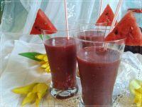 Arbuzowo-wiśniowy koktajl
