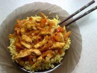 Azjatycki kurczak słodko - kwaśny