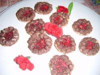 Babeczki z galaretka i pianką czekoladową