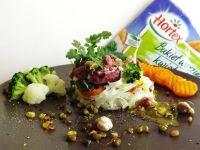 Babeczki z makaronu ryżowego z wołowiną