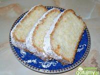 Babka białkowo-kokosowa