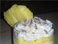 Bananowa Ricotta z ananasem