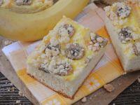 Bananowe ciasto drożdżowe