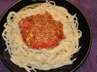 Bardzo ostre spaghetti