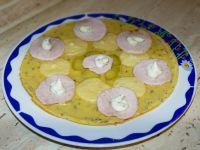 Bazyliowy omlet z dodatkami