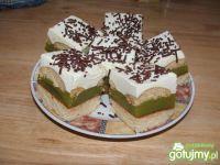 Biszkoptowe ciasto