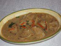 Bitki wieprzowe w sosie musztardowym