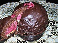 Bomba malinowo- czekoladowa