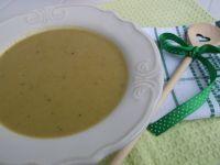 Brokułowo groszkowa zupa - krem