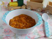 Brzoskwiniowo-dyniowy deserek dla maluchów