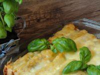 Cannelloni z mięsem i grzybami pod beszamelem