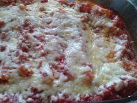 Cannelloni z mięsem mielonym w pomidorach