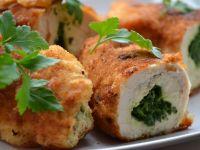 Chicken kiev czyli roladki z masłem pietruszkowym