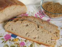 Chleb na zakwasie z mąką ryżową