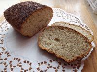 Chleb pszenno-owsiany z ziołami