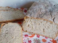 Chleb pszenny na podmłodzie z kaszą jęczmienną