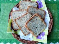Chleb pszenny z ziarnami na jogurcie