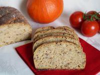 Chleb z dynią i kaszą jaglaną