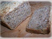 Chleb żytni z sezamem
