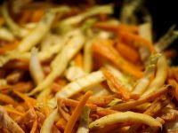 Chrupiące warzywa jesienne stir fry