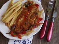 Chrupiący filet z kurczaka po chińsku