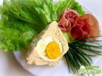 Chrzanowa  galaretka z jajkiem