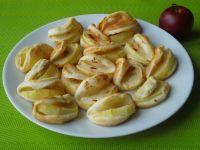 Ciasteczka francuskie z jabłkiem