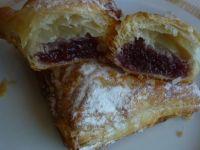 Ciasteczka francuskie z marmoladą