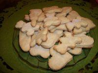 Ciasteczka miodowe z cukrem
