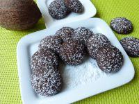 Ciasteczka z czekoladą i wiórkami kokosowymi