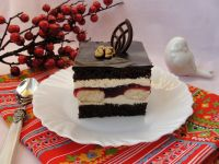 Ciasto Cygan z galaretką