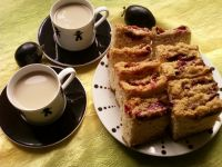 Ciasto drożdżowe ze śliwkami