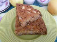 Ciasto imbirowe z jabłkami