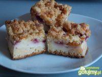 Ciasto jogurtowo-budyniowe z owocami