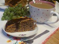 Ciasto kawowe z polewą czekoladową