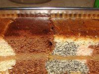 Ciasto kolorowe z jabłkami