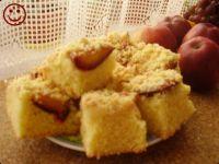 Ciasto kruche z owocami i kruszonką