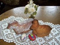Ciasto na zajaczka lub baranka :)