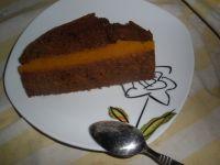 Ciasto piernikowe z dżemem dyniowym