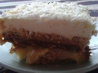 Ciasto Toffi na herbatnikach