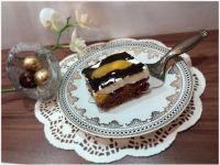 Ciasto ucierane Brzoskwinka w galaretce