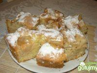 Ciasto ucierane z jabłkami Danusi