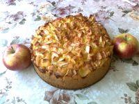 Ciasto ucierane z jabłkami i cynamonem